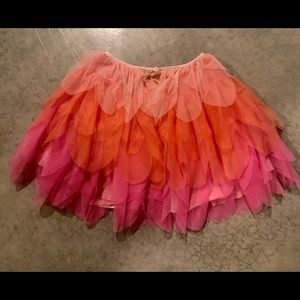 Beautiful tiered tutu skirt